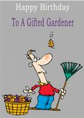 Gardener - Greeting Card
